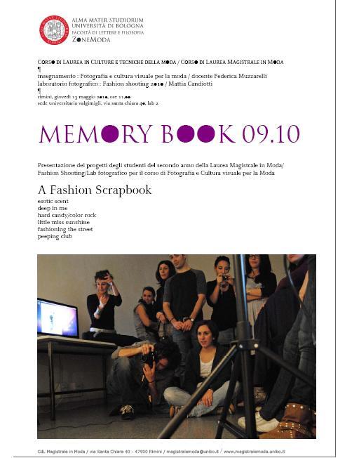 locandina memory book