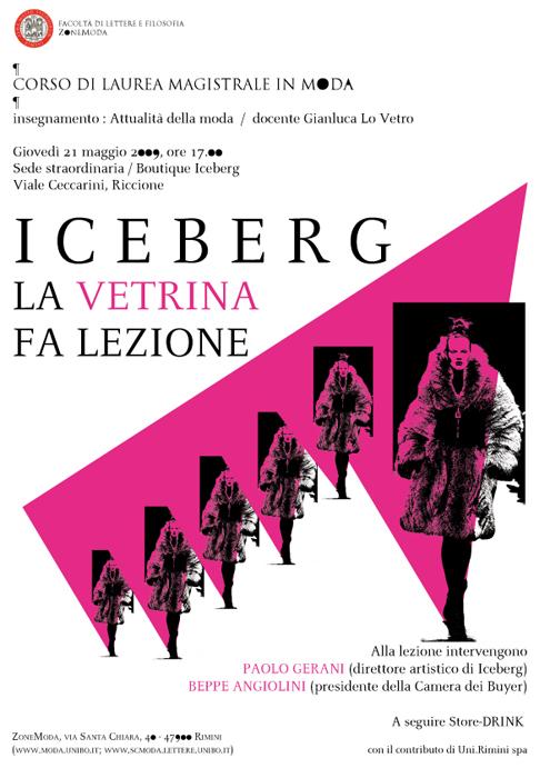 ICEBERG La vetrina fa lezione LOC
