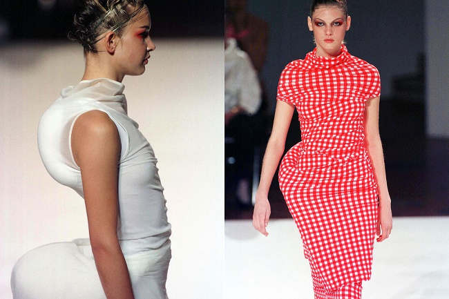 'Dress Meets Body, Body Meets Dress', Comme des Garçons S/S 1997 collection. Source: http://goo.gl/kdaGQP.