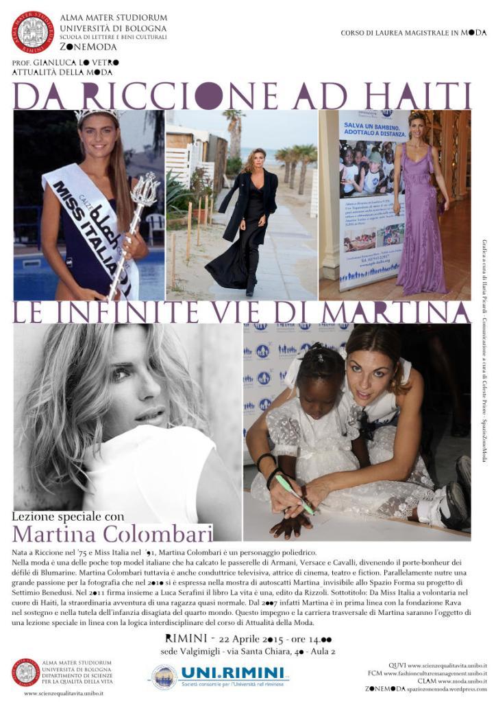 DA RICCIONE AD HAITI LE INFINITE VIE DI MARTINA  con Martina Colombari