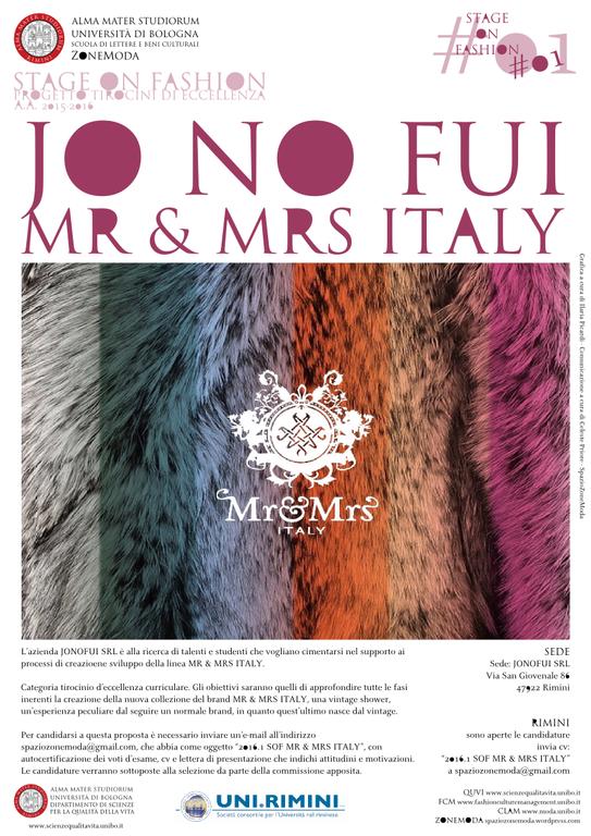 2016.1 SOF MR & MRS ITALY