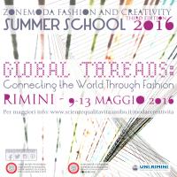 Fashion and Creativity – Summer School2016