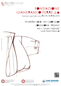 Fondazione  GIANFRANCO FERRÉ 2.0  con RitaAiraghi