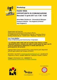 Radio Web: opportunità dicomunicazione
